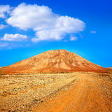 Tindaya mountain Fuerteventura Canary Islands Stock Image