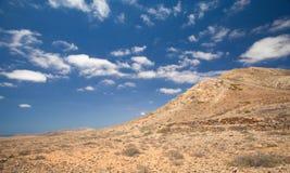 Tindaya, the sacred mountain Royalty Free Stock Images