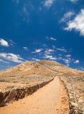 Tindaya, the sacred mountain Royalty Free Stock Photos