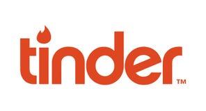 Tinder Logo Editorial Vector vector illustration