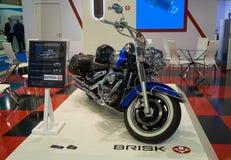 Tined Suzuki motocycle Obrazy Royalty Free