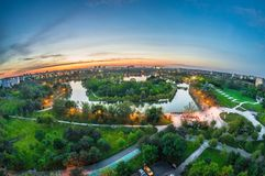 The Tineretului Park Royalty Free Stock Images