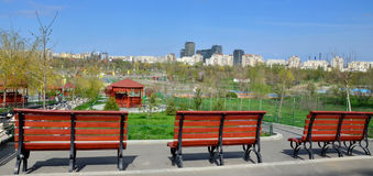 Tineretului Park in spring 2 Royalty Free Stock Image