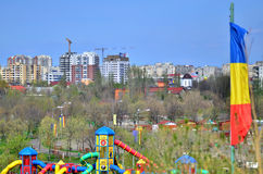 Tineretului Park in spring Royalty Free Stock Photos