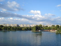 Tineretului park view in the summer Stock Photos