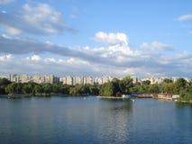 Tineretului parka widok w lecie Zdjęcia Stock