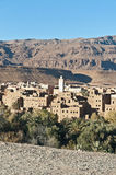 Tinerhir village at Morocco Stock Photos