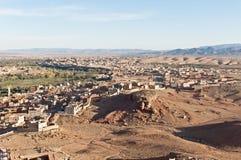 Tinerhir village at Morocco royalty free stock image