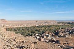 Tinerhir village at Morocco stock photos