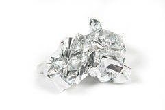 Tinfoil Ball Royalty Free Stock Photo