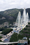 Ting Kau Bridge. Royalty Free Stock Images