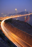 Ting Kau bridge Royalty Free Stock Image