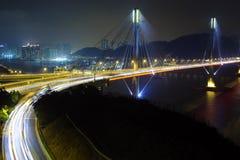 Ting Kau Bridge Royalty Free Stock Photography