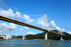 Ting Kau Bridge Stock Images