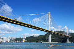 Ting Kau bridge Stock Image
