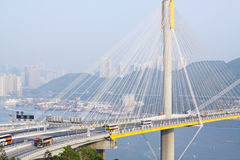 Ting Kau Bridge Royalty Free Stock Photography