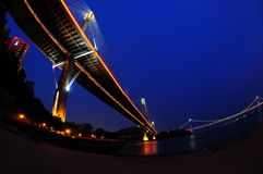 Ting Kau Bridge Royalty Free Stock Images