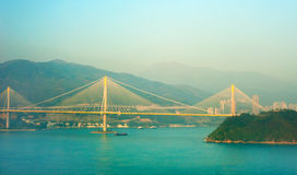 Ting Kau Bridge, HK Royalty Free Stock Images