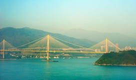 Ting Kau Bridge, HK Royalty Free Stock Images