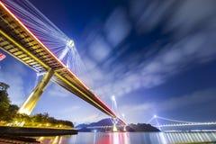 Ting Kau Bridge of Hong Kong Stock Photography