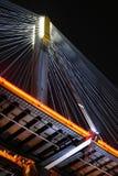 Ting Kau Bridge at night Stock Photo