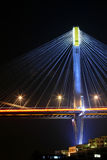 Ting Kau Bridge at night Royalty Free Stock Photos