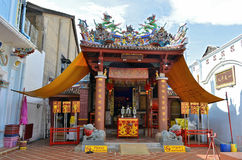 Ting Kwan Tang, Shrine of the Serene Light in Phuket Old Town. Thailand Royalty Free Stock Photo