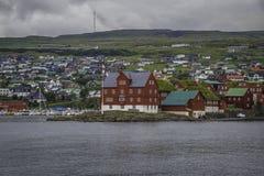 Tinganes Faroe Island Fotografía de archivo