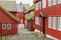 Tinganes Torshavn, Faroe islands. Stock Photography