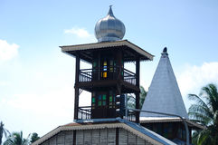 Tinggi清真寺或Banjar清真寺在霹雳州,马来西亚 库存图片