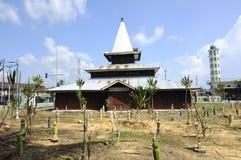 Tinggi Mosque or Banjar Mosque in Perak, Malaysia Stock Photos