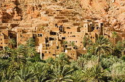 Tinghir city in Morocco Royalty Free Stock Photography