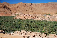 Tinghir, Souss-Massa-Drâa, Marrocos Fotografia de Stock Royalty Free