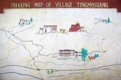 Tingmosgang monastery and palace, Ladakh, India Stock Image