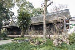 Tingqiuxuan (senta il padiglione di autunno) Fotografie Stock Libere da Diritti