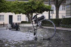 Tinguely喷泉 免版税图库摄影
