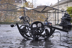 Tinguely Fountain Royalty Free Stock Photo