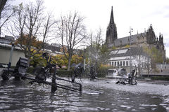 Tinguely Fountain Royalty Free Stock Images