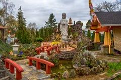 Tinh Xa Minh Quang Buddhist Temple Royalty-vrije Stock Fotografie
