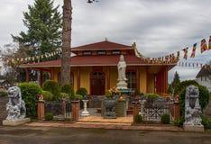 Tinh Xa Minh Quang Buddhist Temple Royalty-vrije Stock Afbeeldingen