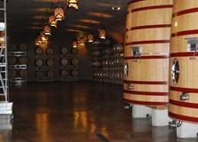 Tini del vino, Napa, California Fotografie Stock