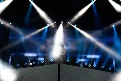 Tinie Tempah (English rapper) performance at FIB Festival Stock Images