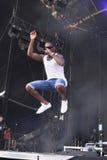 Tinie Tempah Phasenkonzert IBIZA 2012 Stockfotos
