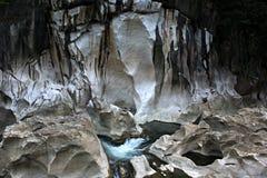 Tinipak skały i rzeka Zdjęcia Royalty Free