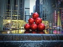 Tinir da época natalícia Fotografia de Stock