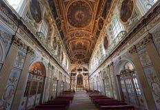 Tinity教堂,大别墅de枫丹白露,法国 免版税库存照片