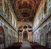 Tinity教堂,枫丹白露宫,法国 免版税库存图片