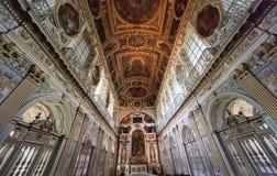 Tinity教堂,枫丹白露宫,法国 免版税图库摄影