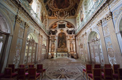 Tinity Chapel, Chateau de Fontainebleau, France Royalty Free Stock Photo