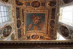 Tinity Chapel, Chateau de fontainebleau, France Royalty Free Stock Photos
